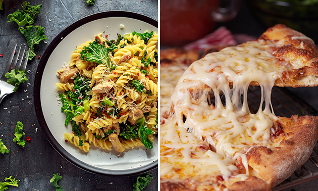 Afhalen: pizza of pasta (40+ keuzes)
