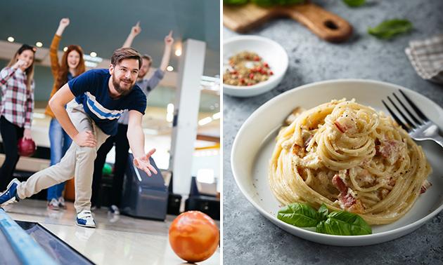 Bowlen + pasta voor 4, 6 of 8 personen