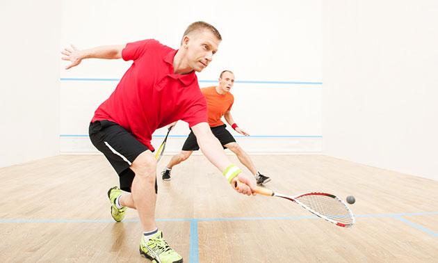13-rittenkaart voor squash