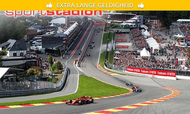 Ticket bronze pour le Grand Prix de Formule 1 de Belgique