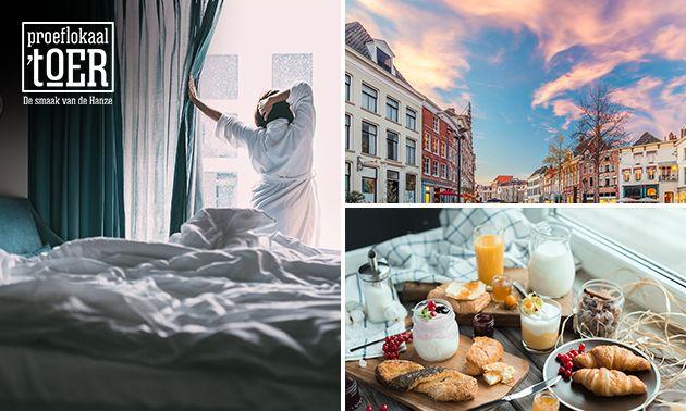 Overnachting voor 2 + ontbijt in Zutphen