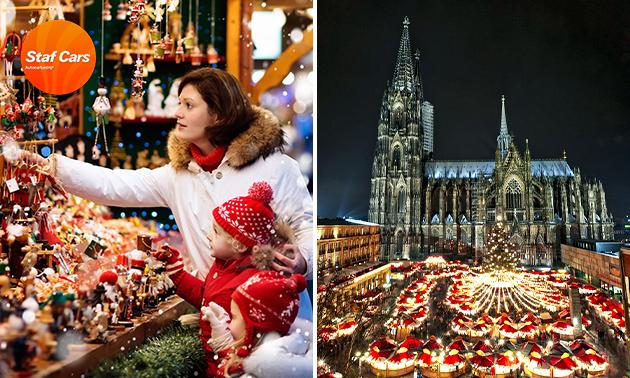 Busreis naar kerstmarkt in Düsseldorf of Keulen