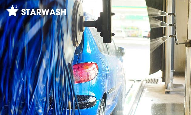 Autowasbeurt bij Starwash