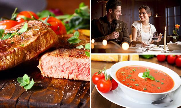 3-gangen keuzediner bij Steakhouse El Toro