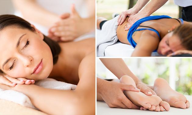 Massage naar keuze (30 of 60 min)