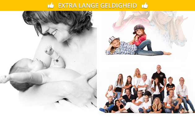 Fotoshoot voor stelletje of gezin