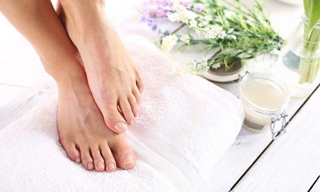 Spa-pedicurebehandeling (75 min)