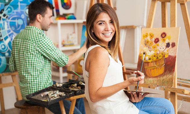 Workshop schilderen (3 uur)