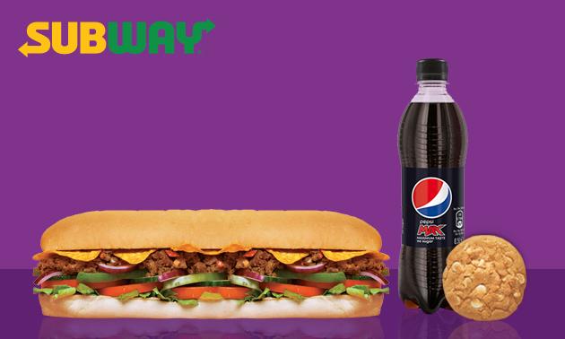 Bij Subway: Sub naar keuze