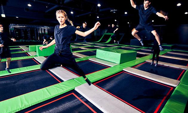 1,5 ou 2 heures de saut en trampoline