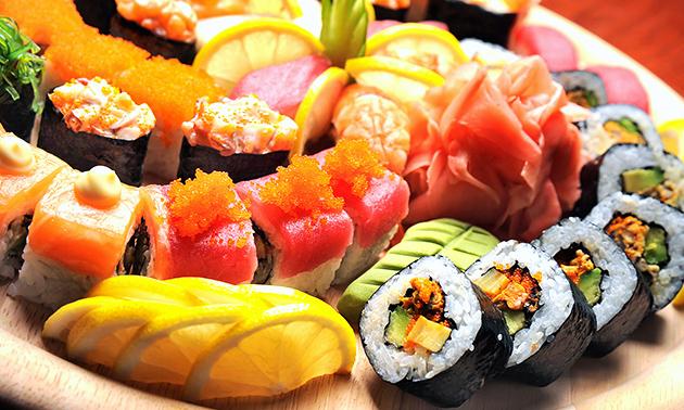 Take-away sushibox (32 stuks) van Momoyama