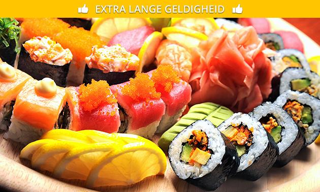 Afhalen: sushibox (32 stuks) van Momoyama