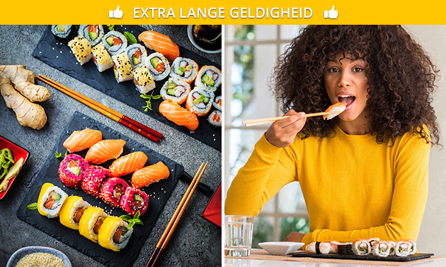 Afhalen: sushibox (17 of 61 stuks) bij Sushi Call