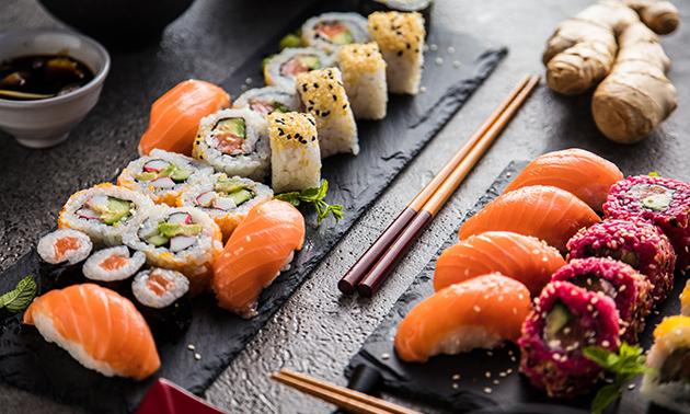 Afhalen: sushibox (26 stuks) in hartje Genk