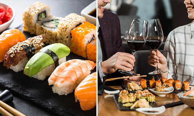 All-You-Can-Eat-lunch of -diner bij Sushi Love