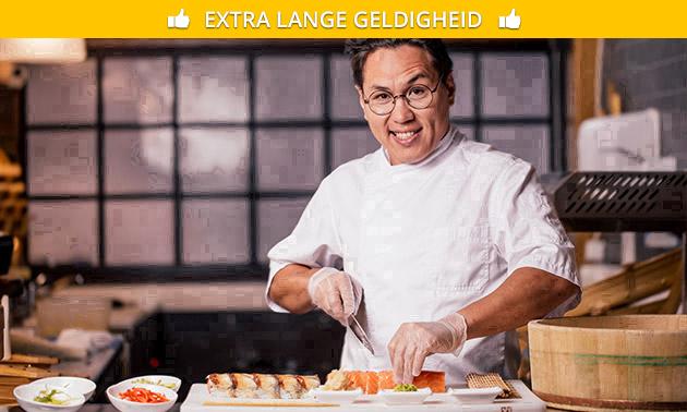 Workshop sushi maken (3,5 uur)