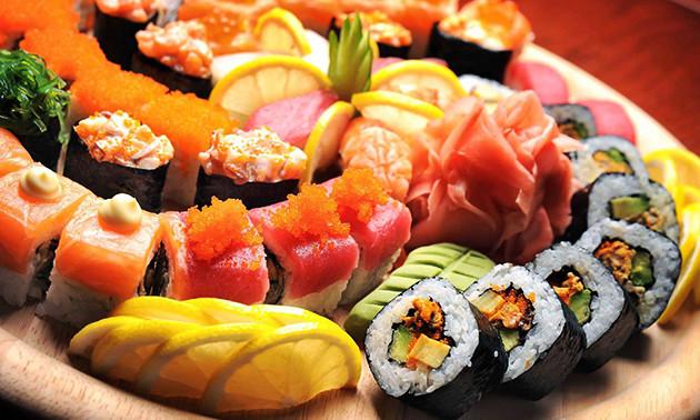 Sushibox (24 of 48 stuks) bij Sushi Time
