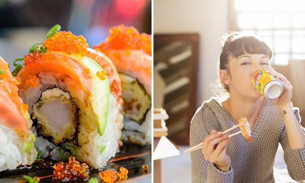 Sushibox (20, 24, 40 of 52 stuks) bij Sushi Time