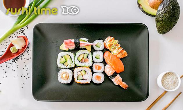 Afhalen: sushibox (24 of 48 stuks)