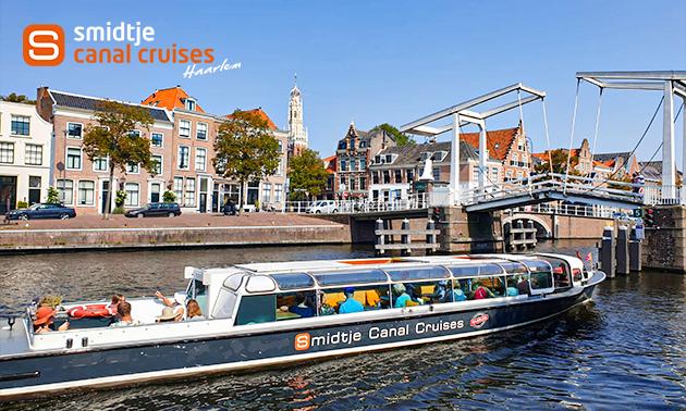 Rondvaart (50 min) door de grachten van Haarlem