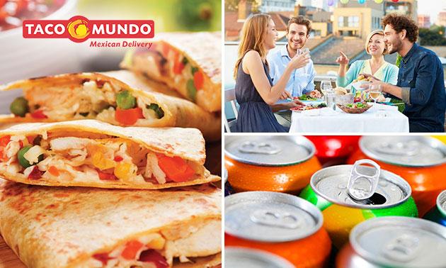 Mexicaans take-away diner in hartje Leeuwarden