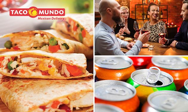 Afhalen: take-away diner bij Taco Mundo