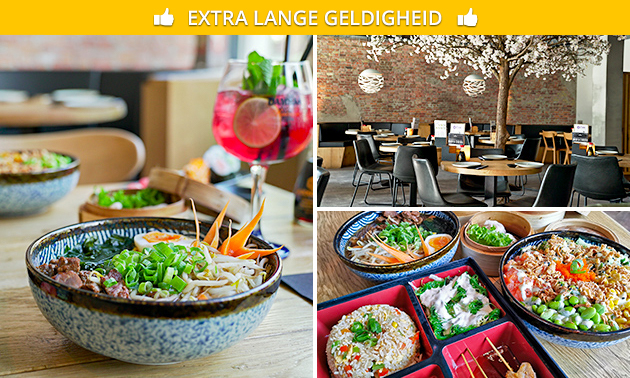 Oosters lunchgerecht naar keuze in hartje Leeuwarden