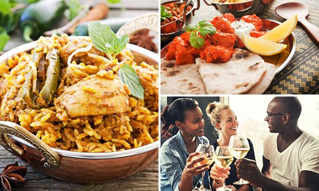 3-gangendiner bij Taste of India