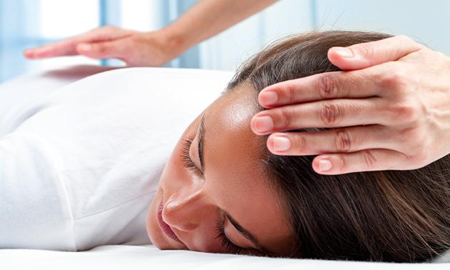 Energetische healing + kristaltherapie (90 min)