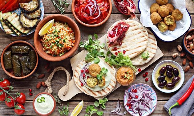 Grieks shared dining-diner in hartje Gouda