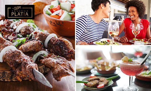 All-You-Can-Eat tapas (3 uur) bij Taverna Platia