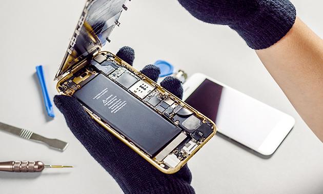 Accu vervangen van je iPhone
