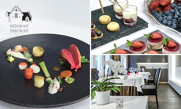 Menu 10 services au restaurant étoilé Michelin Terborght