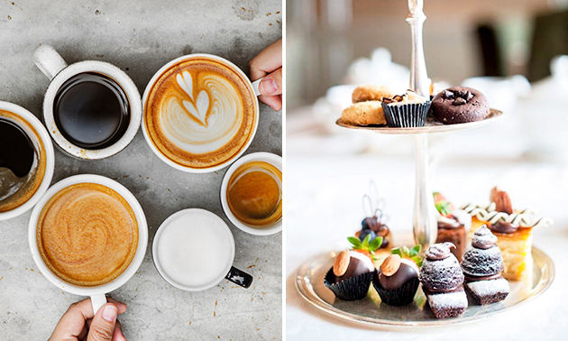 High koffie bij The Count of Coffee