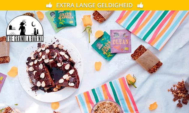 Thuisbezorgd: ontbijtpakket van The Granola Bar NL