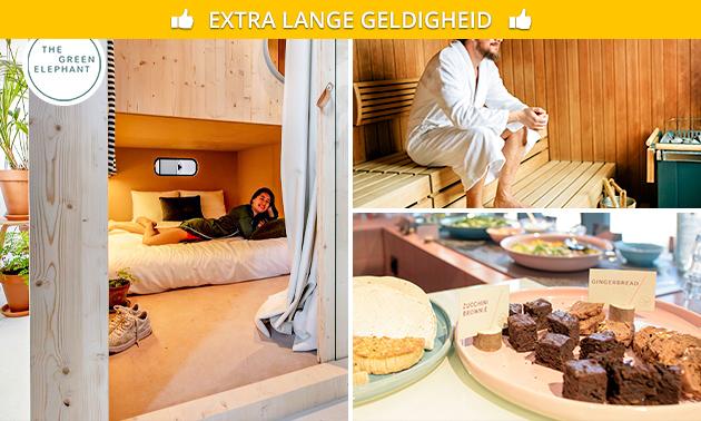 Overnachting + ontbijt + city spa voor 2 in Maastricht