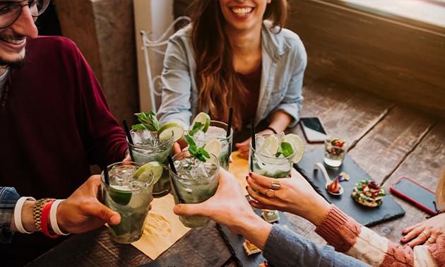 Cocktails voor 2, 4 of 6 personen in hartje Brussel