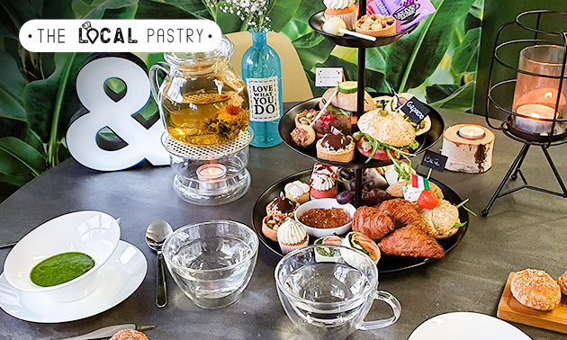 Afhalen: luxe high tea + soep + salade