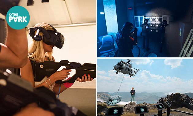 VR experience (1 uur) voor 2-4 personen
