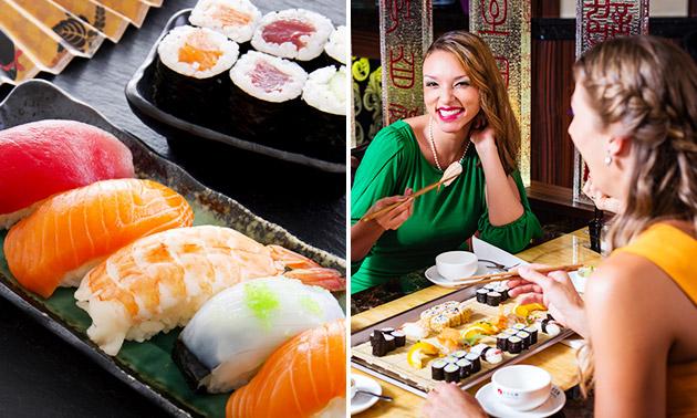 3-gangen sushidiner bij The Sushi Lounge