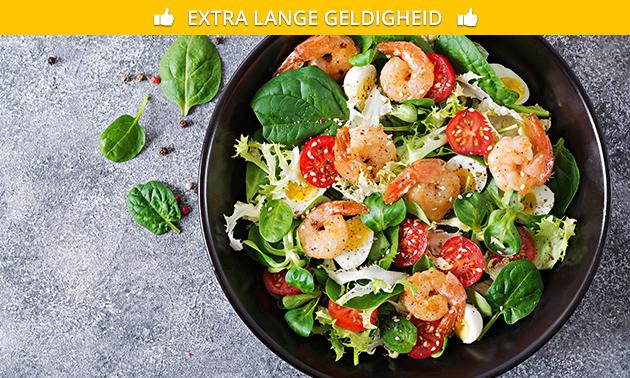 Salade naar keuze in hartje Aalst