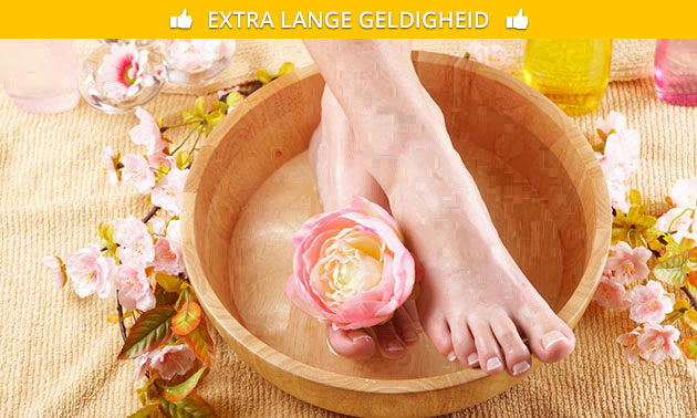 Spa-pedicurebehandeling (45 minuten)
