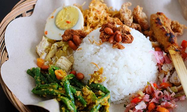 Afhalen: Aziatisch menu naar keuze