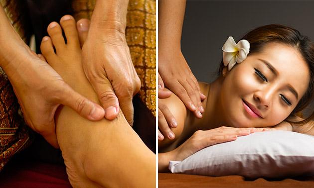 Thaise been-voetmassage