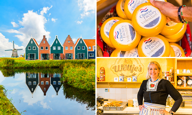 Dagje uit in Volendam en Marken