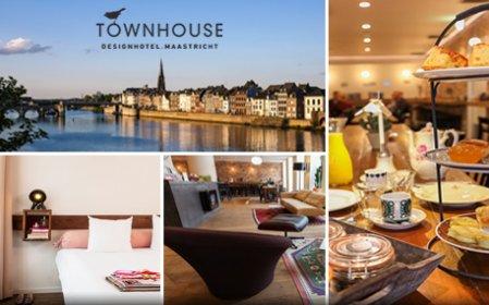 Townhouse maastricht overnachting ontbijt voor 2 for Designhotel maastricht