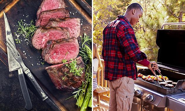 Thuisbezorgd of afhalen: 3-gangen BBQ-diner