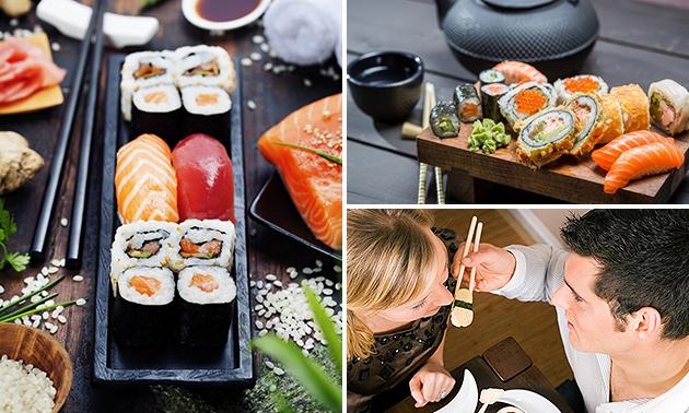 Sushibox (20, 40 of 60 stuks) bij Urban Sushi