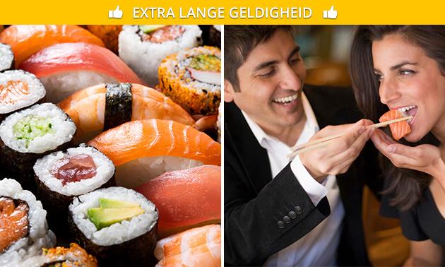 Afhalen: sushibox(en) (40 stuks) bij Urban Sushi