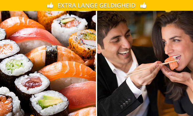 Afhalen: sushibox (20, 40 of 60 stuks) bij Urban Sushi